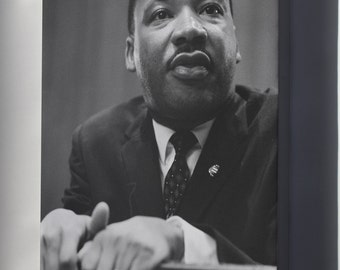 Canvas 16x24; Martin Luther King Jr. C1964