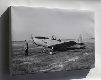 Canvas 16x24; Fairchild Pt-19A Cornell 1947