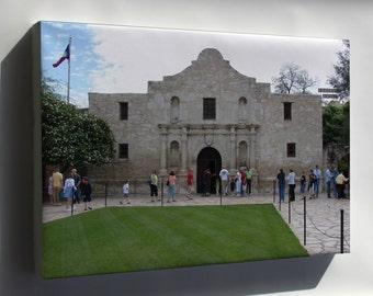 Canvas 16x24; Alamo Mission, San Antonio