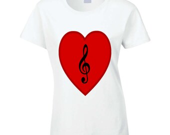 Love For Music T Shirt