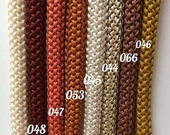 100 meters Macrame cord, Polyester rope, Crochet rope, Rope cord, Macrame rope, Craft cord, Crochet cord, macrame yarn, macrame string