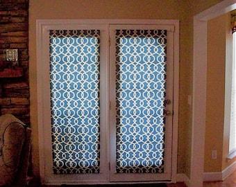 Front door curtain | Etsy