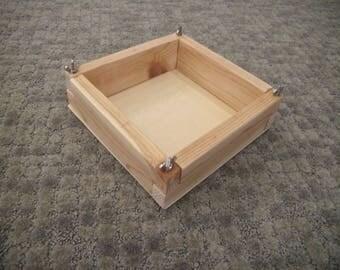 Montessori Box Assembly Work
