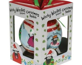 Dublin Gift Wacky Woolies Christmas Ornament ***Free Shipping***