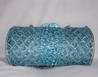 Crystal Clutch, Gift for her, Clutch, Evening Bag, Special Occasion Clutch