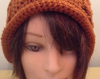 Slouch Owl Hat >> Handmade >> Crocheted  >> Ladies/Teens >> Beanie >> Winter