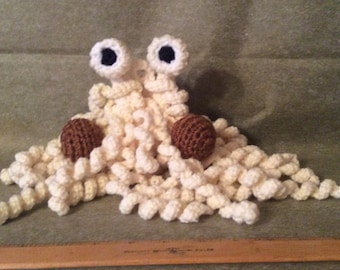 FSM,  rotini noodle.  Yarn and pipe cleaner construction