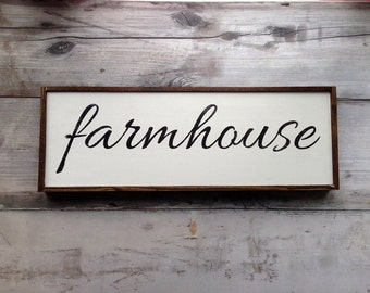 Farmhouse Sign, Farmhouse Decor, Farmhouse Design, Rustic Sign, Country Sign, Home Decor, Sign Above the Door, Shabby Chic Sign