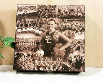 Custom Photo Collage, Photo Collage Box, Personal Collage Keepsake Box, Photo Collage, Personal Photos, Customized Photo Box, Photo Box