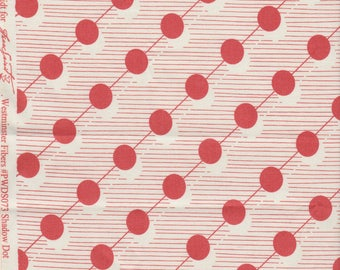 Hadley by Denyse Schmidt - Shadow Dot in Red - Quilting Cotton