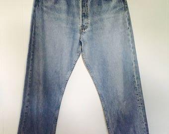 Vintage 90's LEVI 501 Denim Jeans W29 L30