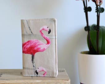 Flamingo Business card wallet, mini wallet, loyalty card wallet, credit card wallet