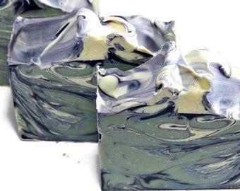 Blueberry Yogurt Soap - Homemade Soap - Palm Free Soap Bar - Artisan Soap - Cold Process Soap - Shea Butter Soap - Handcrafted Soap Bar