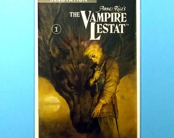 The Vampire Lestat #1-12 Comic Books, (Grade VF/NM) 1990, Innovation Comics Vampire Lestat, Anne Rice, B2