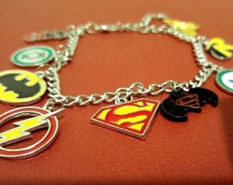 DC Charm Bracelet