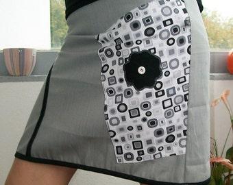 Skirt size 36 grey original