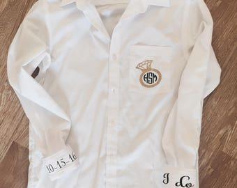 Wedding Day Shirts-  Bridesmaid Shirts, Wedding Day Gifts, Bridesmaid Shirts, Button Down Bridesmaid Shirt, Button Down Shirt