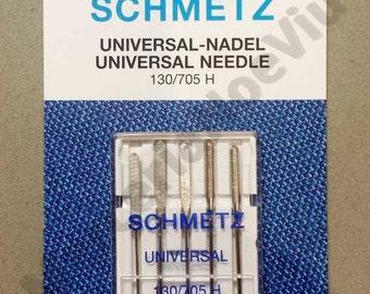 Universal sewing machine needles 70-100 Schmetz