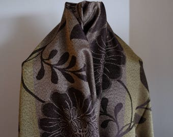 Earthy Toned Light Weight Scarf