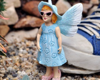 Dress Up Like Mom Fairy Kid for Miniature Garden, Fairy Garden
