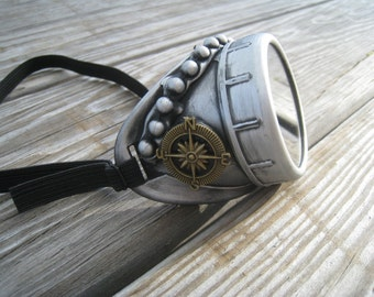 Steampunk Goggles Burning Man Monocle