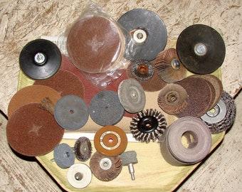 Sandpaper, Sanding Discs, Wire Wheels Sandpaper Sheets & More Great Deal