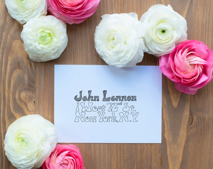 Hand-Addressed Calligraphy Invitation - Affordable - Wedding - Party - Balter