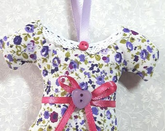 scented dress hanger floral fabric gift female present  mothers day vintage style decoration, scented sachet, drawer  scent sachet floral