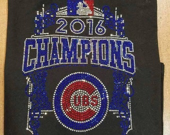 2016 Cubs Rhinestone Champ Shirt
