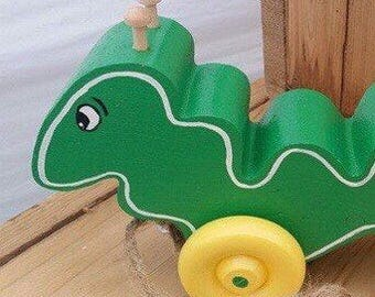 Ira Inch Worm Pull Toy