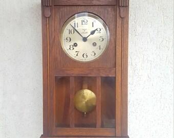 Mauthe Clock Etsy