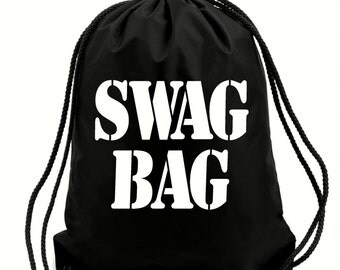 Swag bag,PE bag,school bag,water resistant drawstring bag.