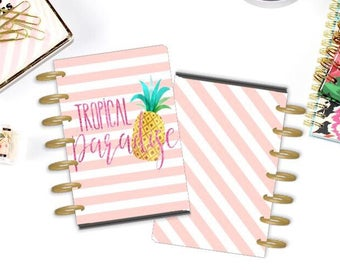 Tropical Paradise  Planner Cover. The happy Planner mini. Personal size. A5 planner