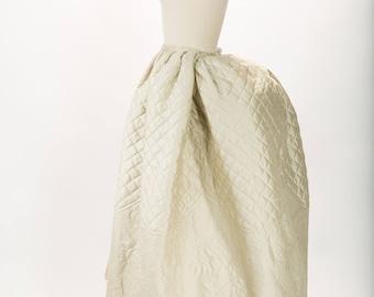 18th century petticoat - 1780 - JEFFERSON petticoat