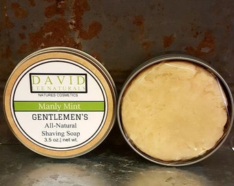 Gentlemen's Shaving Soap w/Tin