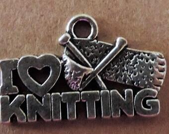 I LOVE SEWING - Charm