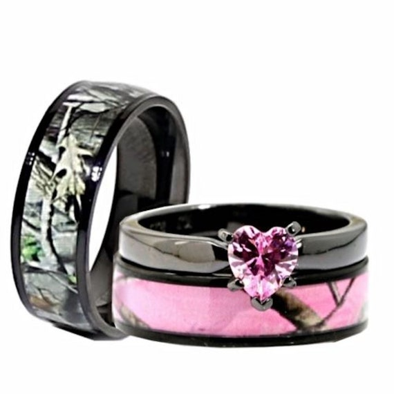 like this item - Camouflage Wedding Rings