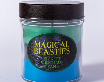 Magical Beasties - Layered Soy Candle