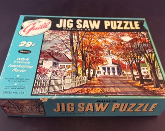 Guild Vintage Puzzle - Kennebunkport, Maine