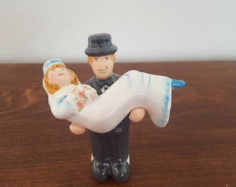 Bride and Groom Salt and Pepper Shakers