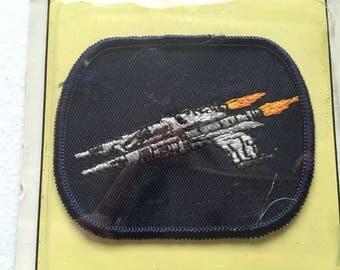 Emblem Vintage Star Wars Space Patch Deadstock 80's