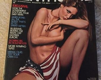 Vintage penthouse magazine august 1977
