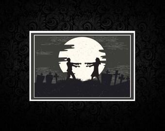 Not Even Death - Zombie - Digital Love Card