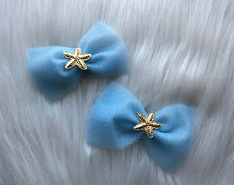 Starfish Hair Bow