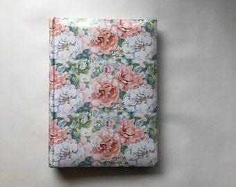 Vintage Floral Memory Book Photo Album