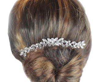 Wedding Hair Comb, Bridal Hair Comb, Crystal Hair Comb, Wedding Haircomb