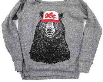 Lucky Bear Boatneck Fleece