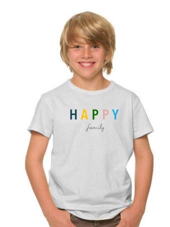 Boy t-shirt HAPPY FAMILY