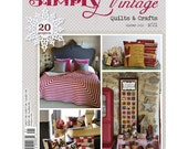 Simply Vintage Magazine by Quiltmania - Winter 2016 - SALE!