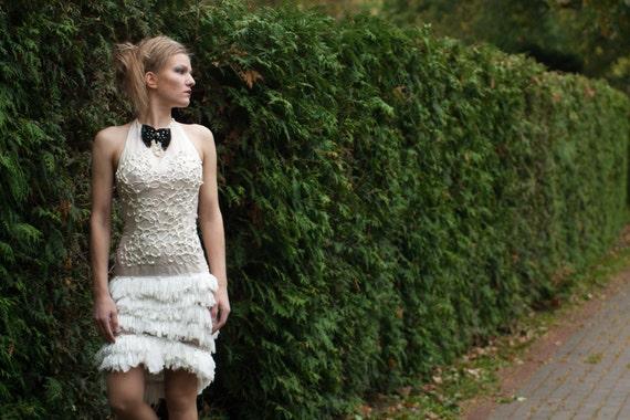 Fringe dress/white dress/silk dress/lace dress/women suit
